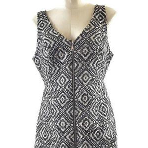 Fitted Hollister Black & White Womens Dress Medium